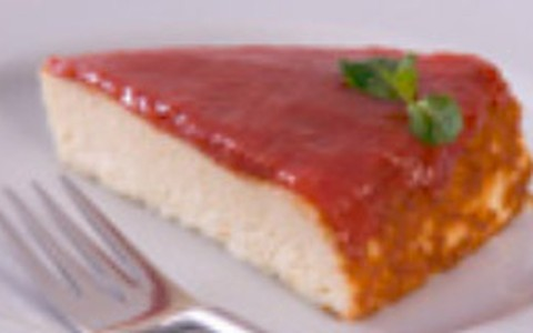 Torta de queijo e goiabada