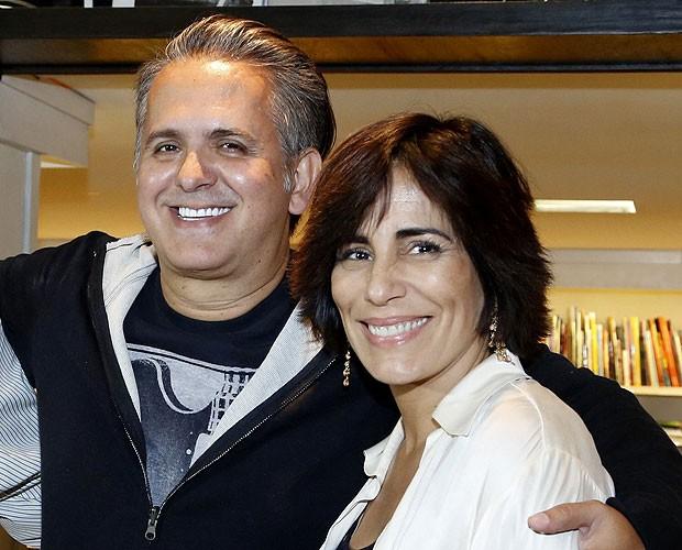 Orlando Morais e Glória Pires (Foto: Roberto Filho  / AgNews)