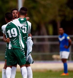 Taylor Saghabi gol Ilhas Cook Samoa eliminatórias (Foto: Reprodução Twitter Fifa World Cup)