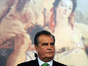 Ministro italiano Roberto Calderoli, em imagem de arquivo (Foto: AFP)