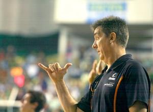 Guerrinha, técnico do Bauru Basquete (Foto: Samuel Vélez / Fiba Américas)
