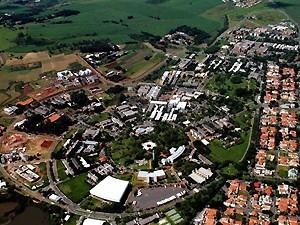 A Universidade Estadual de Campinas (Foto: Antoninho Perri / Unicamp)