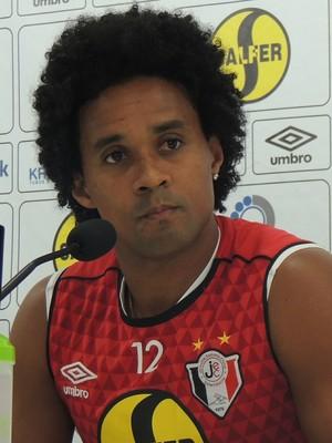 Kempes Joinville atacante (Foto: João Lucas Cardoso)