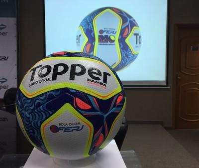 Ferj lança oficialmente a bola do Campeonato Carioca de 2017  veja 82b5f6bcef0f3