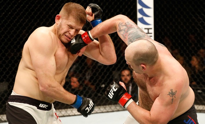 Timothy Johnson Marcin Tybura UFC Croácia (Foto: Getty Images)