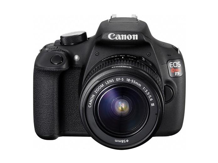 Canon lança a Rebel EOS T5, câmera profissional para iniciantes (Foto: Divulgação/Canon)