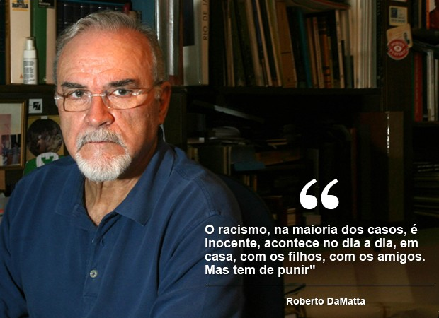 Roberto DaMatta (Foto: Nelson Perez/Estadão Conteúdo)