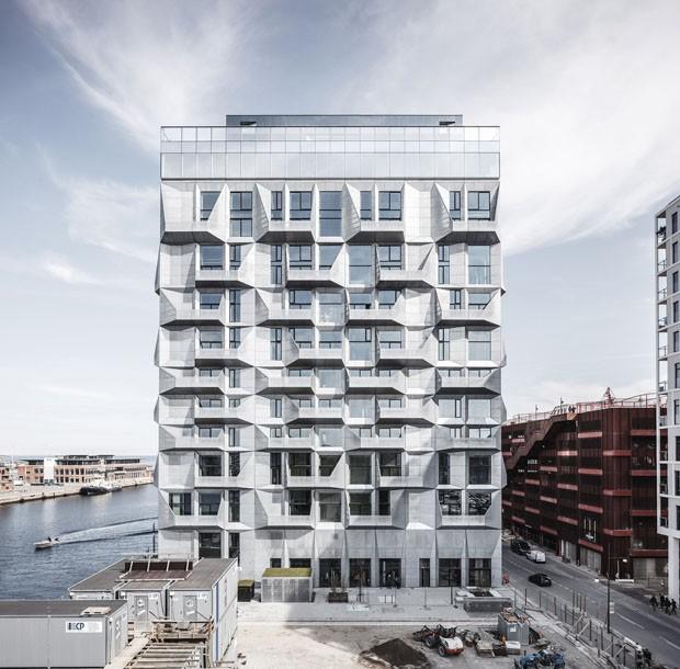 Prédio abandonado virou edifício cool em Copenhague  (Foto: Rasmus Hjortshoj)