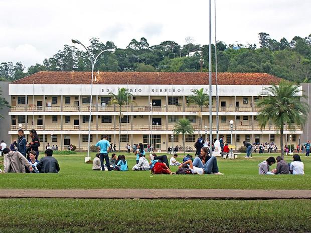 Campus Universidade Federal de Viçosa (Foto: Assessoria de Comunicação Social UFV / Divulgação)