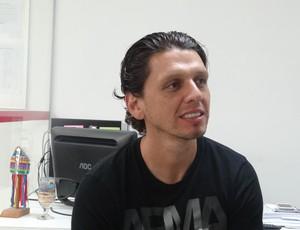 Danilo Bueno, CRB (Foto: Denison Roma)