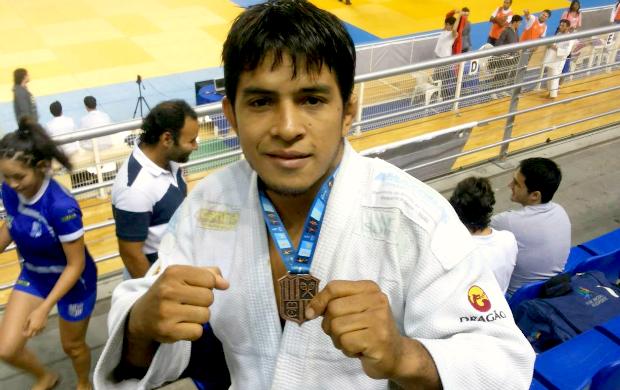 Adriano Rodrigues judô Manaus (Foto: Divulgação)