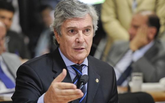 Fernando Collor (PTB-AL) (Foto: José Cruz/Agência Senado)