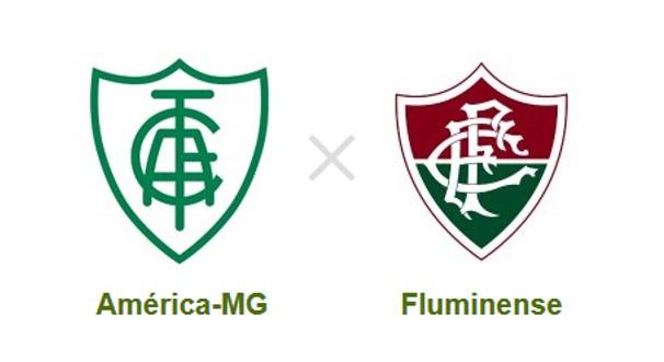 América-MG e Fluminense se enfrentam pelo Brasileirão (Foto: Reprodução)