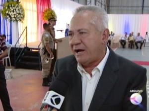 Moacir Ribeiro, prefeito de Formiga (Foto: TV Integração/Reprodução)