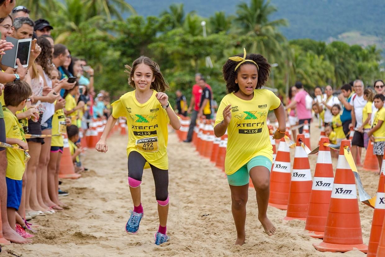 A corrida Kids  sempre uma atrao  parte para o pblico e para os mais jovens (Foto: Divulgao/XTerra Brazil)
