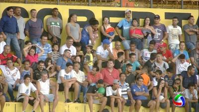 Torcida do Novo no Morenão (Foto: Reprodução/TV Morena)