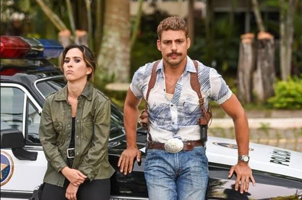 """Cauã e Tatá Werneck estrelam o filme A dupla: """"Aprendo todos os dias com ela"""" (Foto: Daniel Chiacos)"""