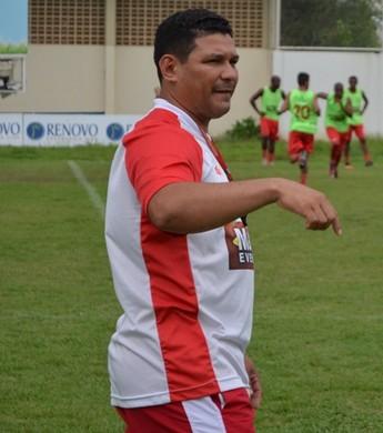 Sérgio Gois, técnico do Náutico-RR (Foto: Nailson Wapichana)