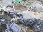 Descarte irregular de lixo em terreno gera reclamações em São Carlos, SP