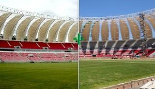 beira-rio montagem antes e depois (Foto: Editoria de Arte/Globoesporte.com)