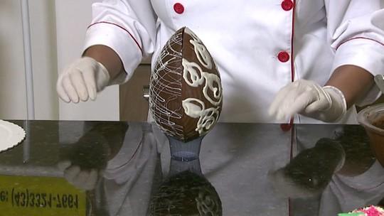 Aprenda a preparar ovos de chocolate de baixo custo para a Páscoa
