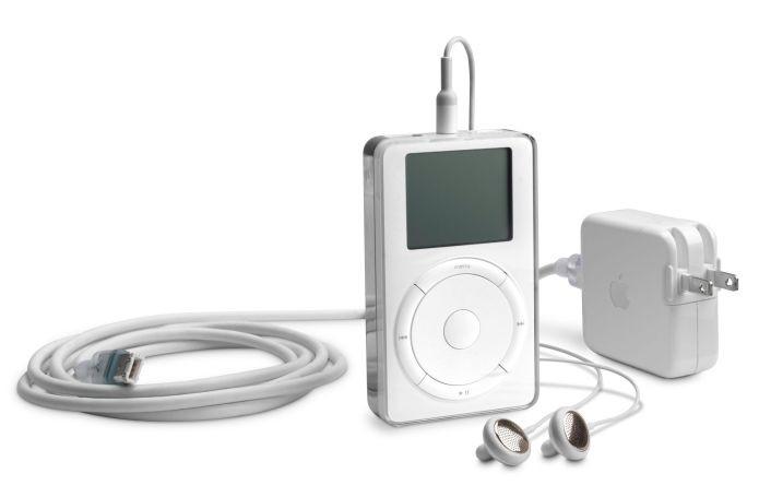 O primeiro iPod, lançado por Steve Jobs em 2001 (Foto: Divulgação)
