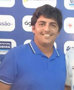 Victor Silva acerta com o Itaboraí (Foto: Divulgação/ Itaboraí)