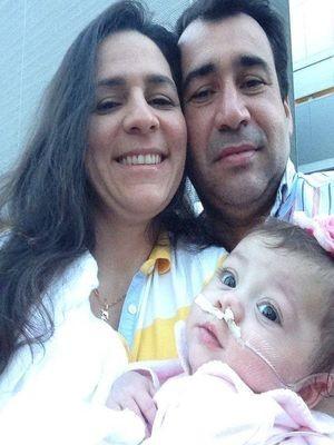 Pais fazem apelo para salvar a vida da filha (Foto: Arquivo Pessoal)