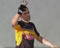 Na mosca! Goleiro Tiago mostra boa pontaria em treino do Sorocaba; vídeo