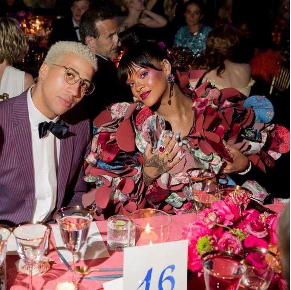 Miles Chamley-Watson e Rihanna (Foto: Instagram/Reprodução)