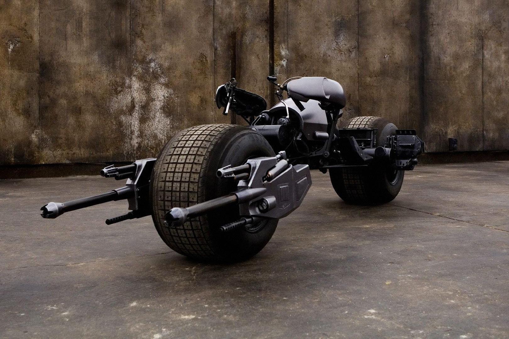 A moto de Batman: O Cavaleiro das Trevas (Foto: Divulgação)