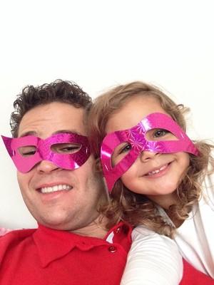 """""""A razão do meu viver"""", disse Pedro Leonardo sobre sua filha Maria Sofia, de 4 anos.  (Foto: Pedro Leonardo)"""