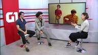 G1 Cultural entrevista a banda Tiju