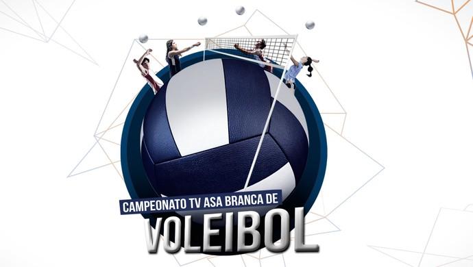 logo 6ª copa tv asa branca de volei  (Foto: Divulgação / Marketing TV Asa Branca)