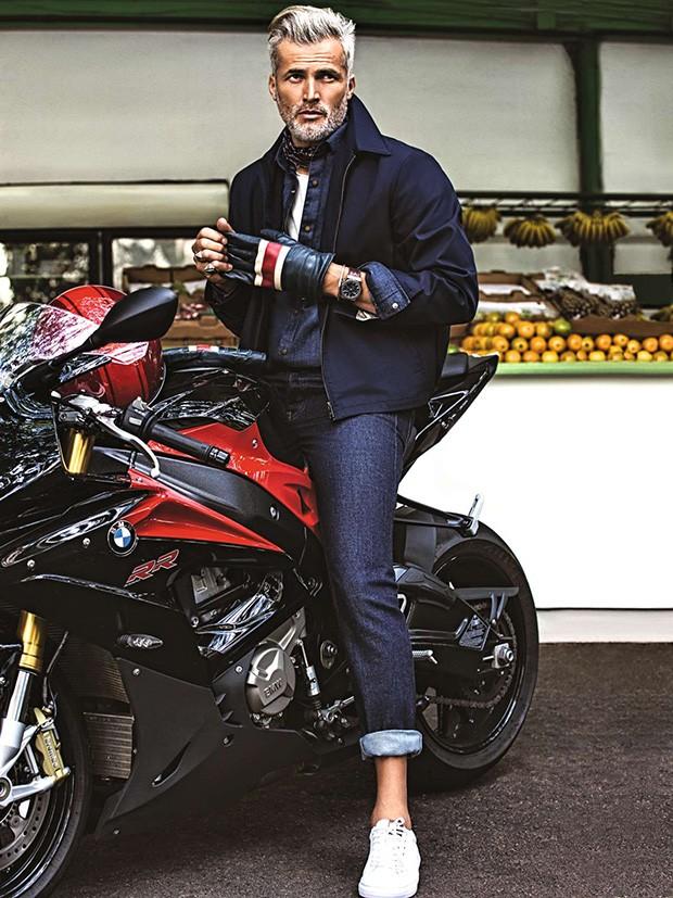 Moda Moto Duas Rodas (Foto: Rodrigo Marques Edição de moda Sylvain Justum)