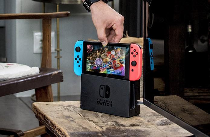 Tela do Switch roda jogos em resolução HD (Foto: Divulgação/Nintendo)