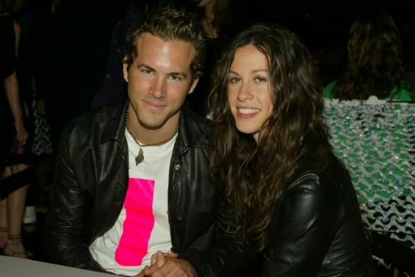 Ryan Reynolds e Alanis Morissette (Foto: Getty Images)