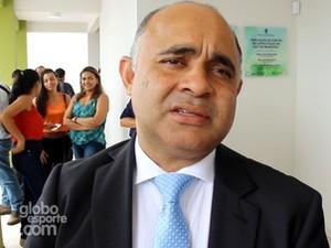 George Hilton fala sobre o Profut em evento no Acre  (Foto: Reprodução/GloboEsporte.com)