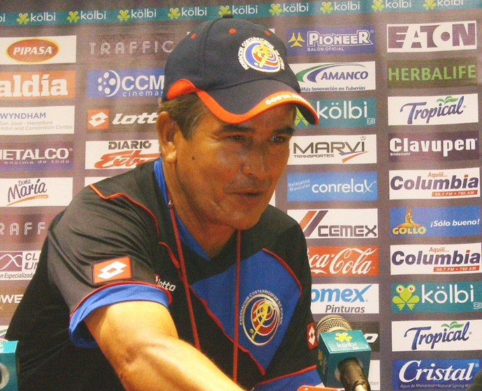 Jorge Luis Pinto costa rica coletiva (Foto: Lincoln Chaves)