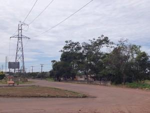 O bairro Cuba de Asfalto, na zona oeste da capital, é um dos 32 bairros não oficiais (Foto: John Pacheco/G1)