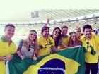 Famosos torcem pelo Brasil em jogo contra a Colômbia