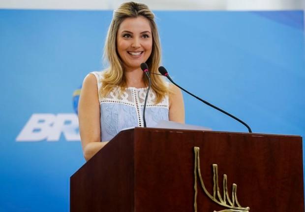 A primeira-dama Marcela Temer (Foto: Carolina Antunes/PR)