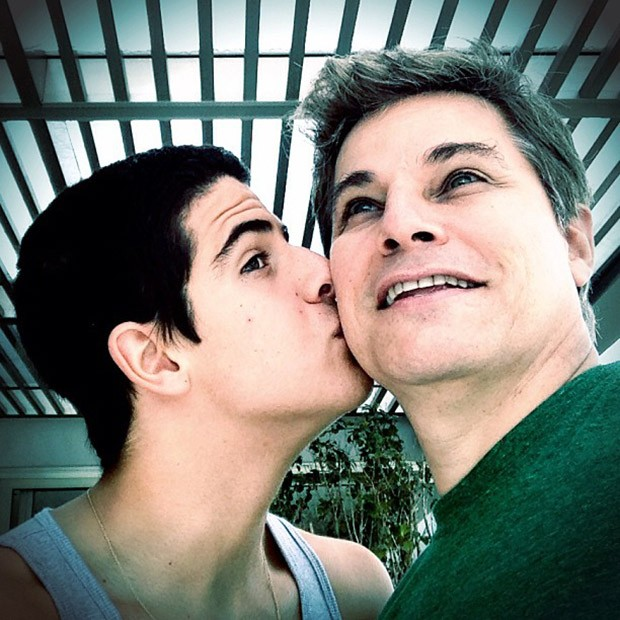 Enzo e Edson Celulari (Foto: Instagram / Reprodução)