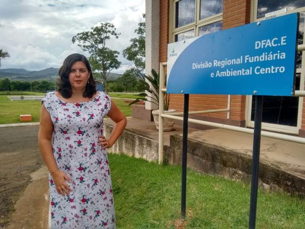Sandra ocupa gerência em área dominada por profissionais masculinos, são josé da barra (Foto: Furnas Centrais Elétricas/Divulgação)