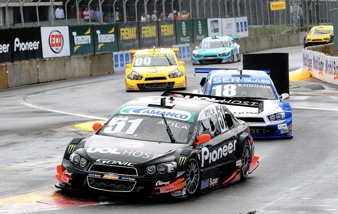 Átila Abreu corrida Stock Car Salvador (Foto: Duda Bairros / Stock Car)