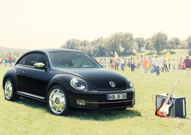 Volkswagen cria versão especial do Beetle insparada nas guitarras Fender (Foto: Divulgação)