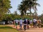 Caminhada é atração em Casimiro de Abreu, RJ, neste domingo