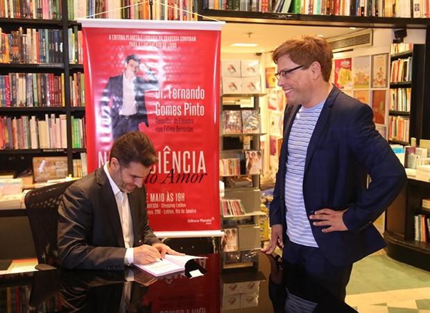 Dr Fernando Gomes Pinto e Bruno Chateaubriand (Foto: AgNews)