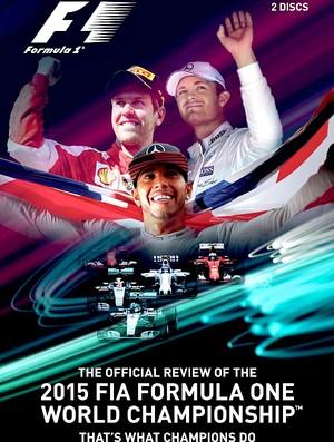 DVD oficial Fórmula 1 2015
