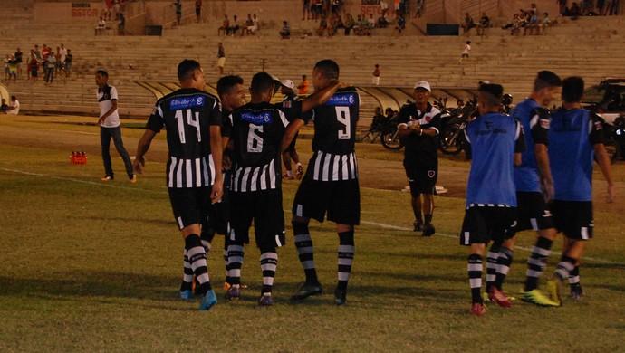 Lucena x Botafogo-PB, Sub-19 (Foto: Silas Batista / GloboEsporte.com)